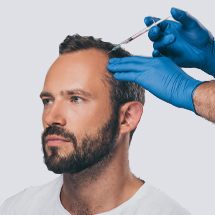 Men Platelet Rich Plasma